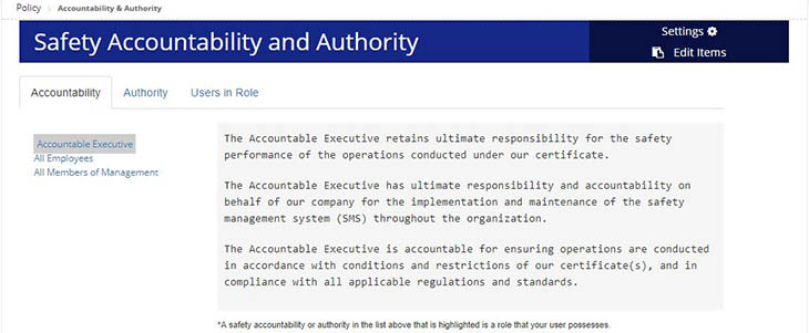 Accountabilities and Authority in Automation Tool