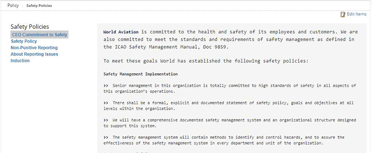 Safety Policy in Automation Tool